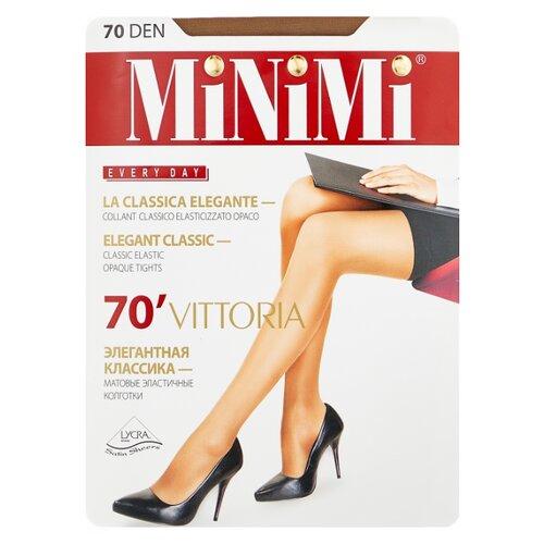 Колготки MiNiMi Vittoria 70 den, размер 5-XL, daino (бежевый) колготки minimi la sfera 20 den размер 5 xl daino бежевый