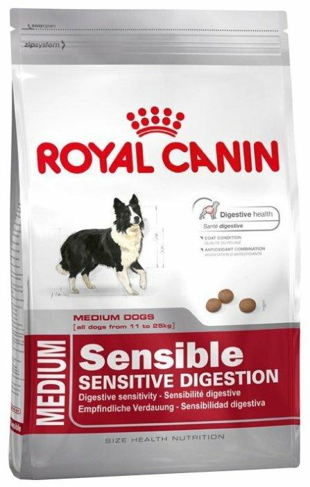 Корм для собак Royal Canin для здоровья кожи и шерсти 4 кг (для средних пород)