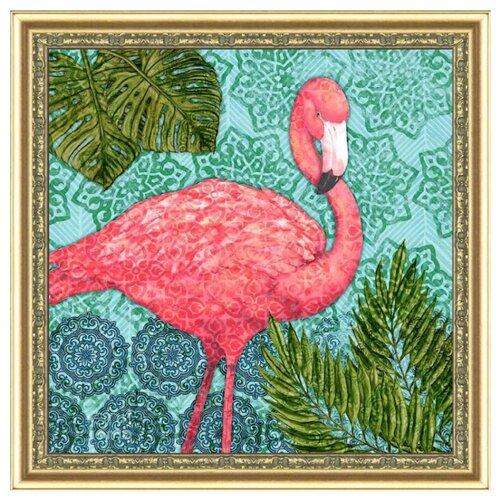 Купить Color Kit Картина из пайеток Экзотический фламинго (CMD008), Картины из пайеток
