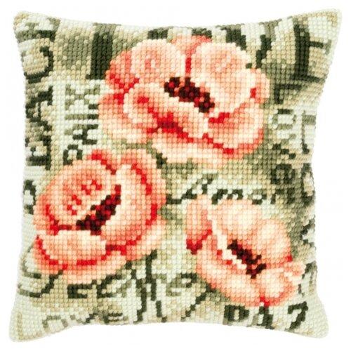 Купить Vervaco Набор для вышивания Маки 40 х 40 см (PN-0144839), Наборы для вышивания