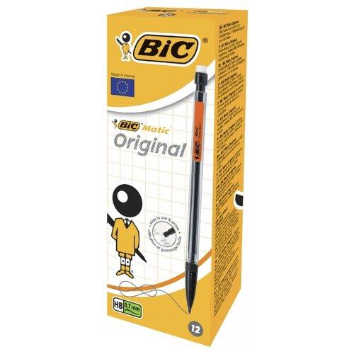 BIC Механический карандаш Matic HВ, 0.7 мм, 12 шт. penac механический карандаш rb 085m hв 0 5 мм 2 шт синий