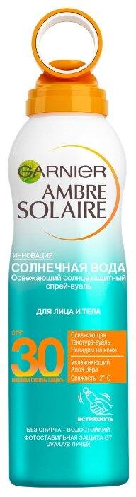 GARNIER Ambre Solaire солнцезащитный спрей-вуаль Солнечная вода SPF 30