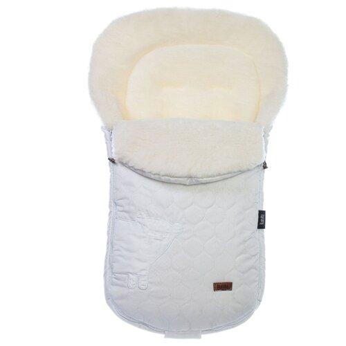 Конверт-мешок Nuovita Polare Bianco меховой 90 см белый конверт мешок nuovita tundra bianco меховой 90 см белый