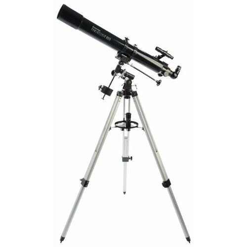 Фото - Телескоп Celestron PowerSeeker 80 EQ черный/серый телескоп celestron powerseeker 114 eq черный серый