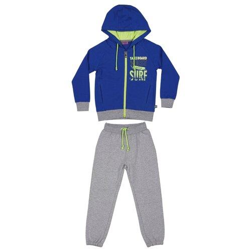 Комплект одежды Sweet Berry размер 98, синий/серый меланжКомплекты и форма<br>
