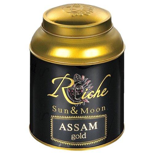 Чай черный Riche Natur Sun&Moon Assam gold , 100 г