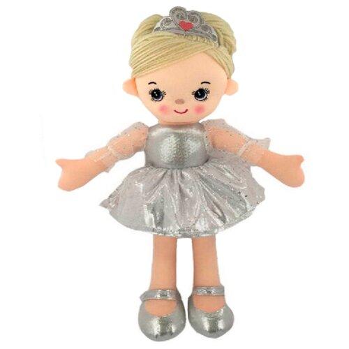 Купить Мягкая игрушка ABtoys Кукла Балерина серебристая 30 см, Мягкие игрушки