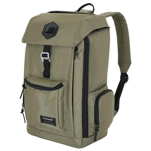 Рюкзак WENGER 5657656408 оливковыйСумки и рюкзаки<br>