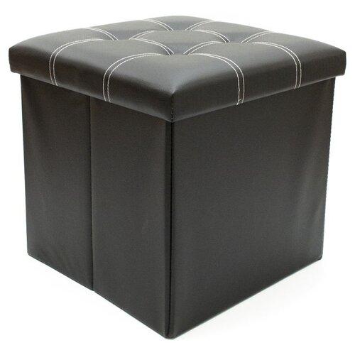 Пуфик с ящиком для хранения Удачная покупка RYP56-38 искусственная кожа черный пуфик с ящиком для хранения удачная покупка ryp56 38 искусственная кожа черный