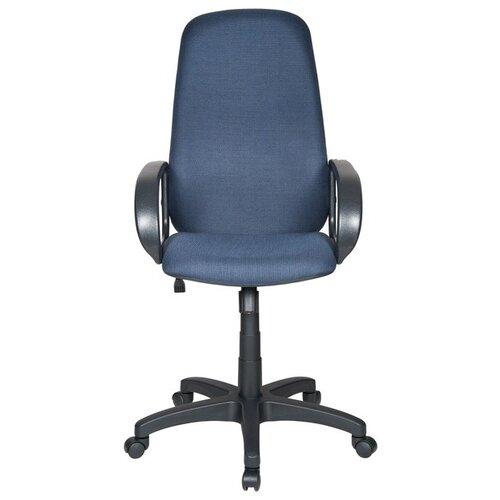 Компьютерное кресло Бюрократ CH-808AXSN, обивка: текстиль, цвет: черный/синий 12-191