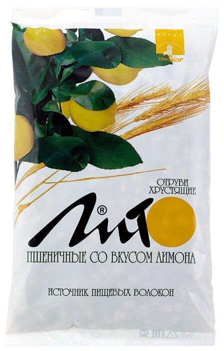 Биологически активная добавка Отруби хрустящие сладкие с кальцием со вкусом лимона Биокор 200 г