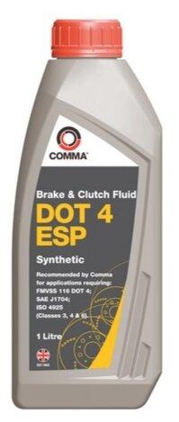 Тормозная жидкость Comma DOT4 ESP (BF4ESP1L) 1 л