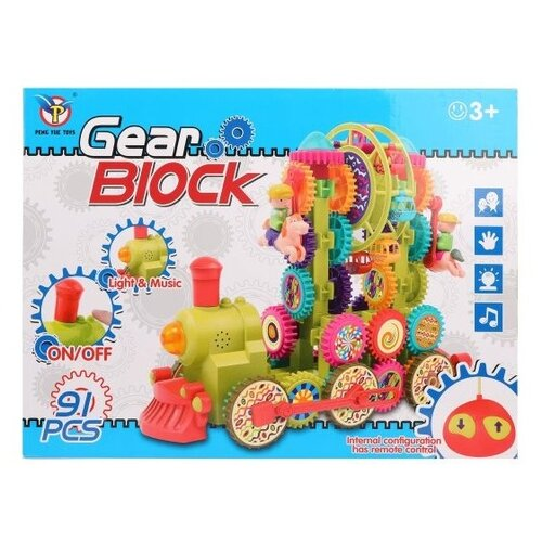 Конструктор Peng Yue Toys Gear Blocks 9207