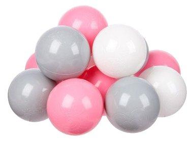 Шарики для сухих бассейнов Hotenok Розовый бриз 50 штук, 7 см (sbh137)