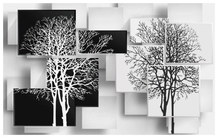 Фотообои флизелиновые Design Studio 3D Деревья в стиле модерн 4х2.5м