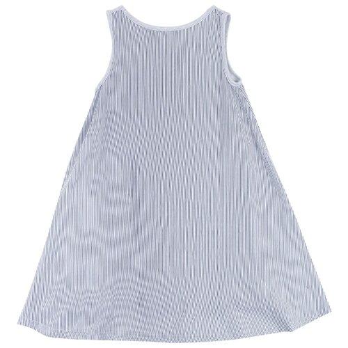 Платье playToday размер 86, светло-серый/золотистый