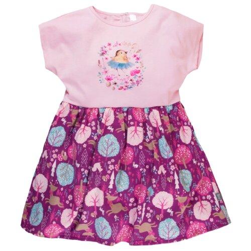 Платье Bossa Nova размер 104, розовый/фиолетовыйПлатья и сарафаны<br>