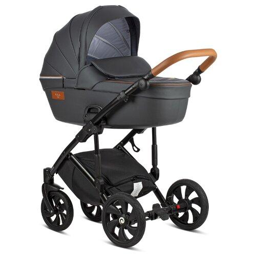 Универсальная коляска Tutis Viva Life 2019 Leather (2 в 1) темно-серый коляска 3 в 1 tutis zippy viva серый белый 513045
