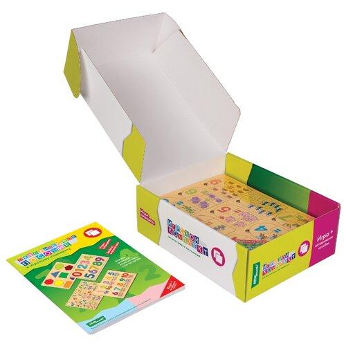 Купить Набор рамок-вкладышей Step puzzle Игровой комплект №2 Весёлая математика, Весёлая азбука, Дары природы (40200), Пазлы