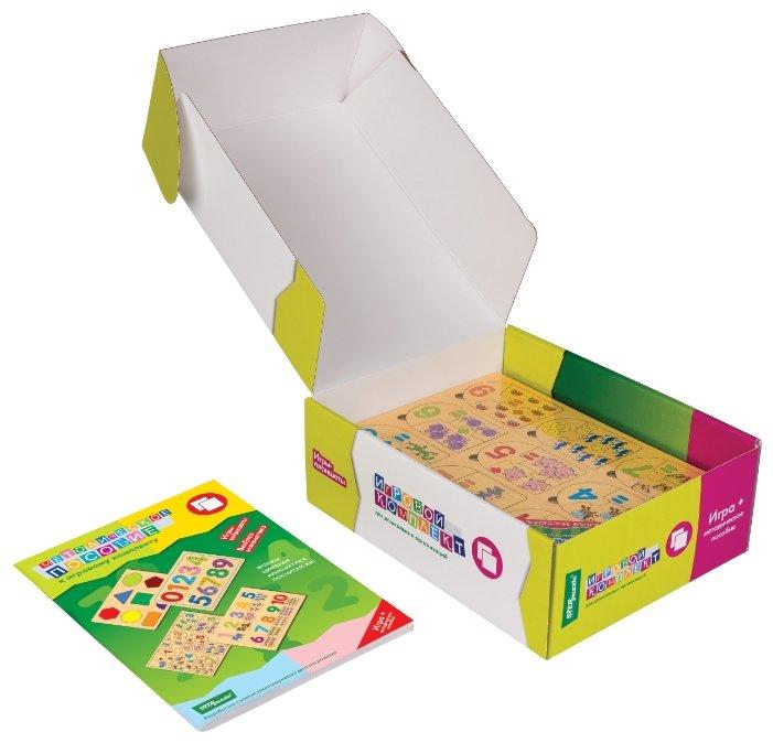 Набор рамок-вкладышей Step puzzle Игровой комплект №2 Весёлая математика, Весёлая азбука, Дары природы (40200)