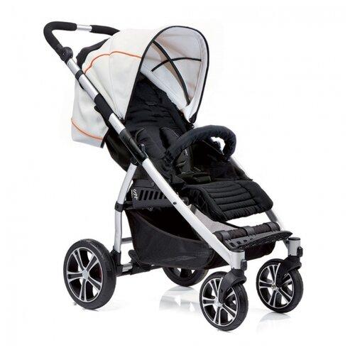 Купить Прогулочная коляска Gesslein S4 Air+ 365000 schwarz/weiss/orange, Коляски