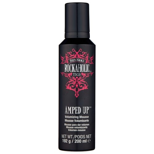 TIGI мусс Bed Head Rockaholic Amped Up 200 мл