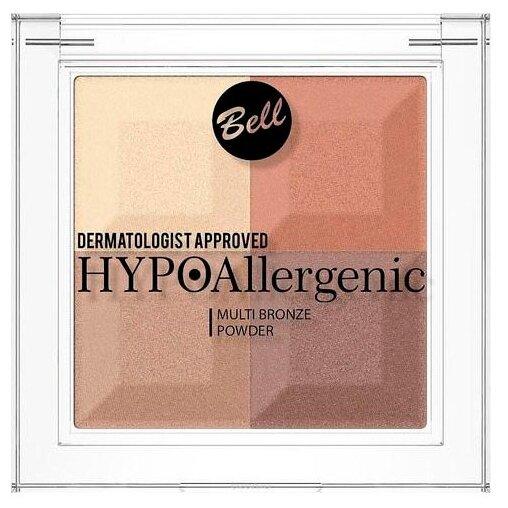 Bell Пудра с бронзирующим и осветляющим эффектом Hypo Hypoallergenic Multi Bronze Powder
