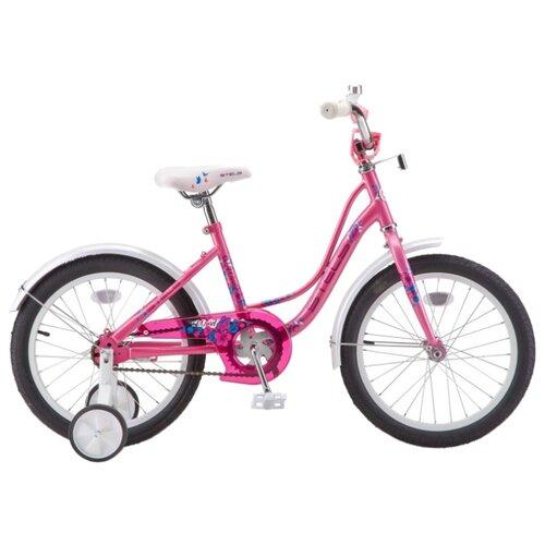"""Детский велосипед STELS Wind 16 Z020 (2019) розовый 11"""" (требует финальной сборки)"""