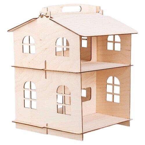 DOMIK.TOYS кукольный домик Совёнок-Дина, Кукольные домики  - купить со скидкой