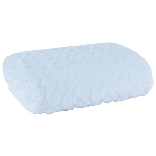 Купить Плед Arya Kumi 75х100 см голубой, Покрывала, подушки, одеяла