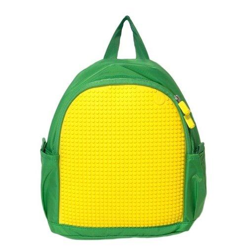 Фото - Upixel Рюкзак Mini Backpack (WY-A012), зеленый/желтый upixel рюкзак canvas classic pixel backpack wy a001 желтый