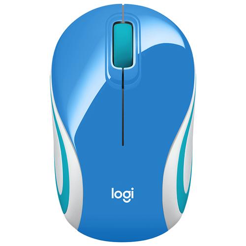 Беспроводная мышь Logitech Wireless Ultra Portable M187 синий logitech g433 синий