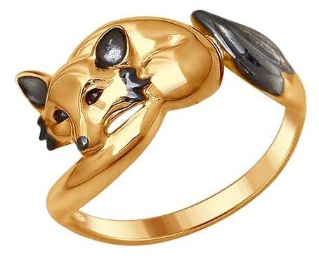 Фаланговое кольцо Судьба, серебро 925