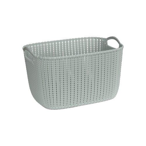 Фото - CURVER Корзина Knit 30x40x23см зеленый корзина для хранения curver knit 3 л прямоугольная голубой
