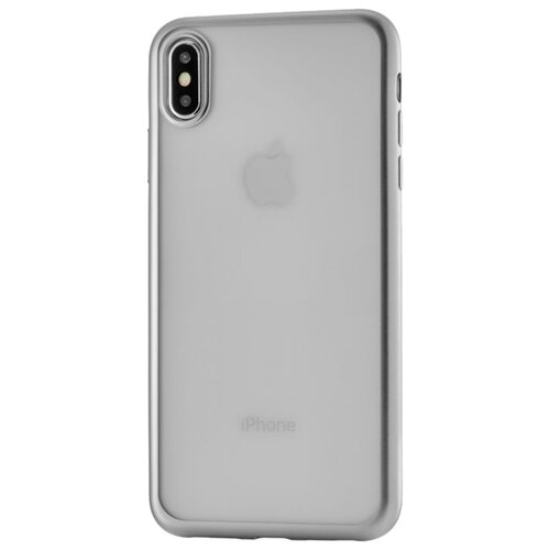 Чехол uBear Frame Tone Case для Apple iPhone Xs Max для Apple iPhone Xs Max silverЧехлы<br>