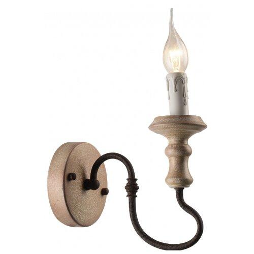 Настенный светильник Arte Lamp Woodstock A1700AP-1BR, 60 Вт настенный светильник arte lamp bevel a9330ap 1br 60 вт