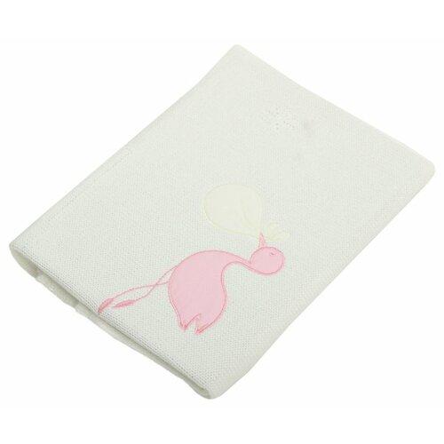 Купить Плед EKO Аист PLE-10 75х75 см розовый, Покрывала, подушки, одеяла