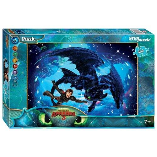 Пазл Step puzzle DreamWorks Драконы (96071), 360 дет.