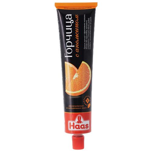 Горчица Haas с апельсином 200г горчица haas домашняя 200 г