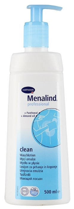Лосьон Hartmann Menalind professional clean Моющий (9950270) 500 мл