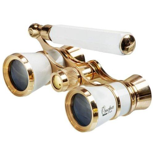 Фото - Бинокль Veber Opera БГЦ 3x25 лорнет белый/золотой набор столовой посуды lefard 7 предметов белый золотой