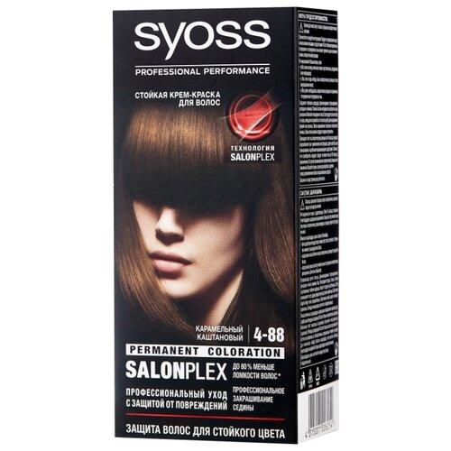 Syoss Color Стойкая крем-краска для волос, 4-88 Карамельный каштановый карамельный цвет волос матрикс