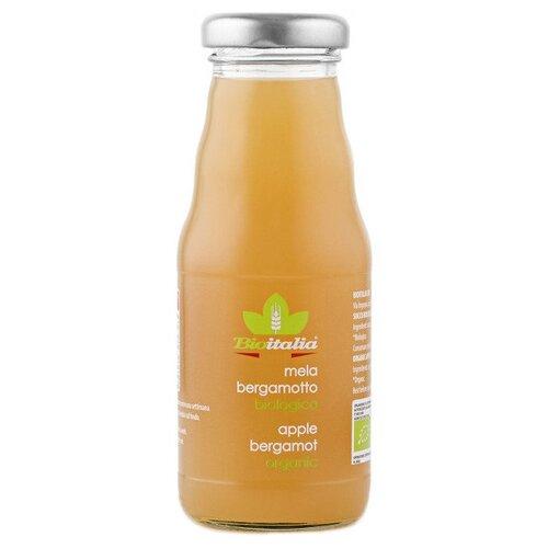 Сок Bioitalia Яблочный с бергамотом, без сахара, 0.2 лСоки, нектары, морсы<br>