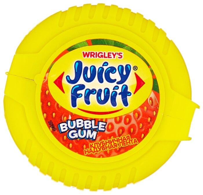Жевательная резинка Juicy Fruit Клубничная надувная лента 30 г