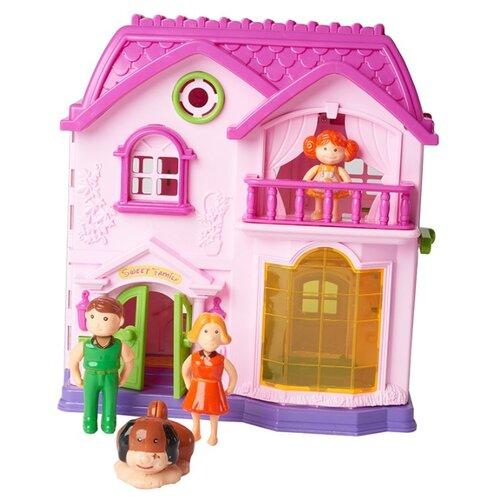 Купить Kari кукольный домик I920480, розовый, Кукольные домики