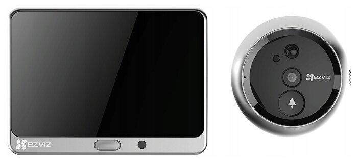 Домофон (переговорное устройство) EZVIZ CS-DP1-A0-4A1WPFBSR серебро (дверная станция) серебро (домофон)