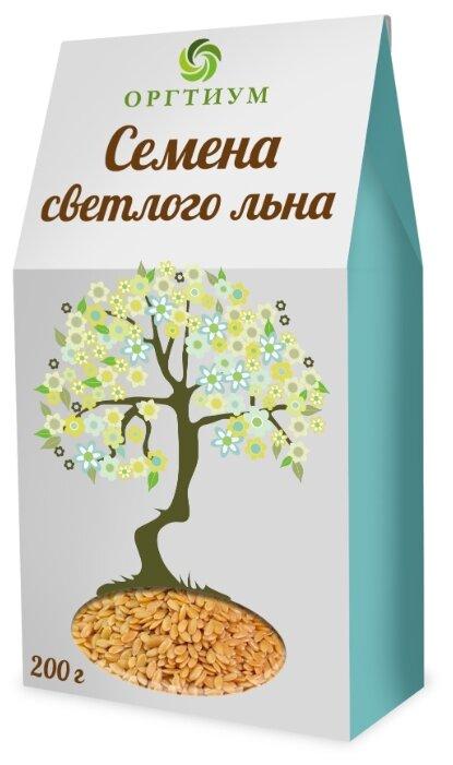 Семена льна Оргтиум белые экологические 200 г
