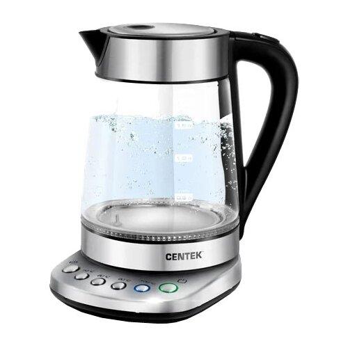 Чайник CENTEK CT-0060, silver электрический чайник centek ct 1078