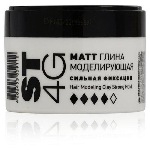 Купить ESTEL Глина моделирующая для волос ST 4G MATT, сильная фиксация, 65 мл