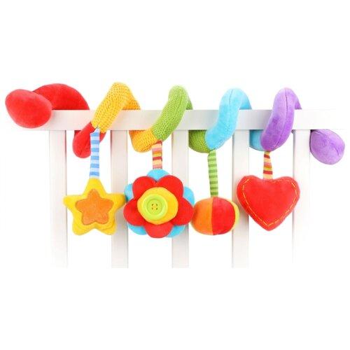 Купить Подвесная игрушка Жирафики Радуга (939718) красный/желтый/голубой, Подвески